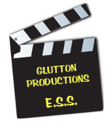 Glutton Productions clapboard