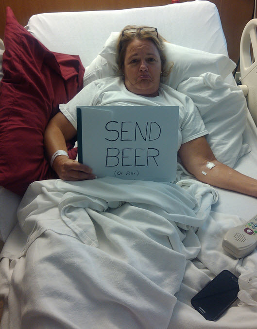 Send beer or pills